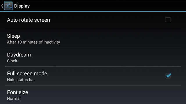 NVIDIA SHIELD Android Status Bar Auto Hide #2
