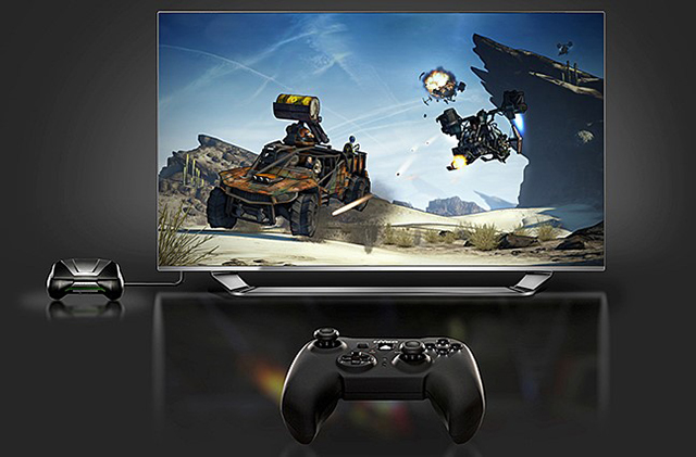 Console Mode makes PC games playable on big screen HDTVs.