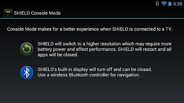 NVIDIA SHIELD Console Mode #5