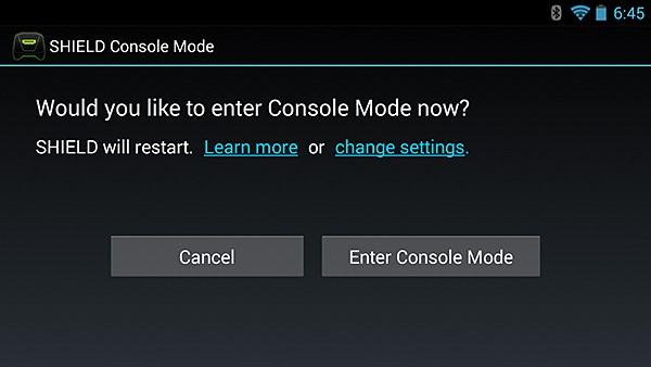 NVIDIA SHIELD Console Mode #6