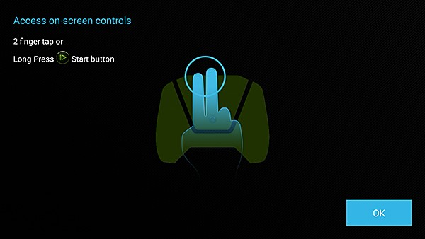 NVIDIA SHIELD On-Screen Controls #1