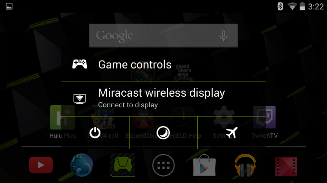 NVIDIA SHIELD Miracast Connect