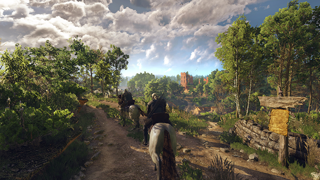The Witcher 3: Wild Hunt - Made to game on NVIDIA SHIELD