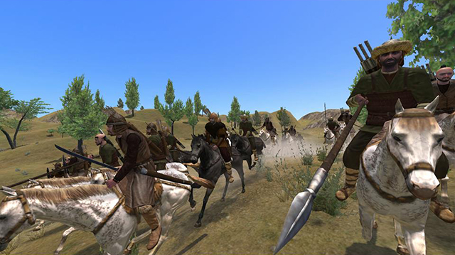 Mount & Blade Warband gives you the complete PC experience on SHIELD.