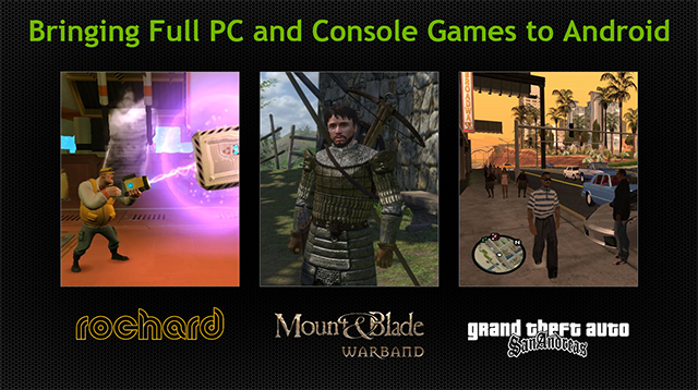 SHIELD brings complete PC and console games to your hand.
