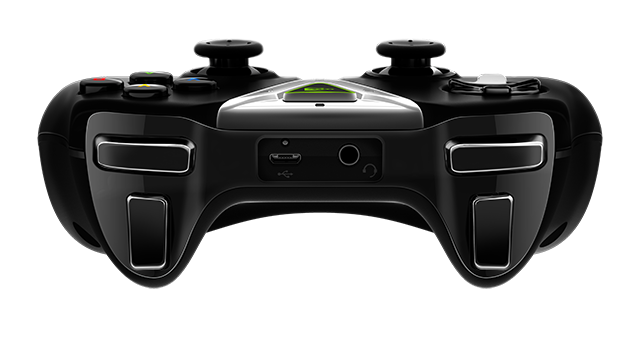 SHIELD Tablet - SHIELD wireless controller top view