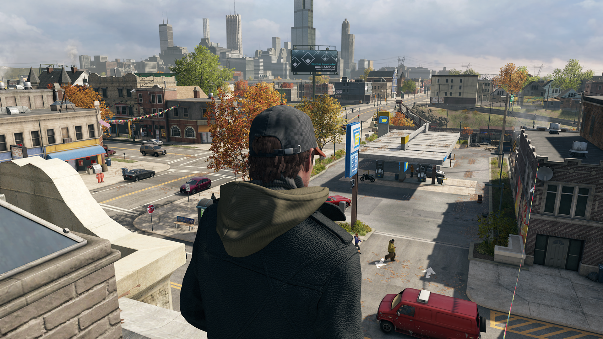 Watch Dogs Level Of Detail Comparison