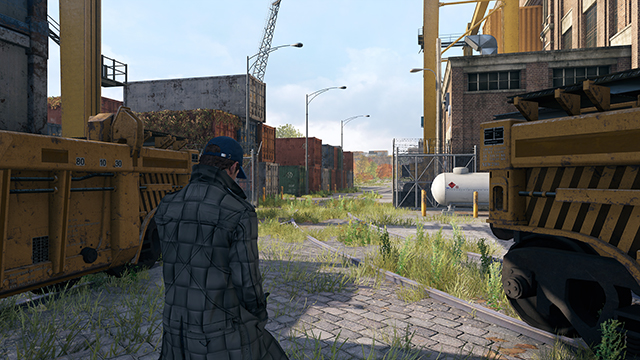 Watch Dogs - Anisotropic Filtering Override Comparison