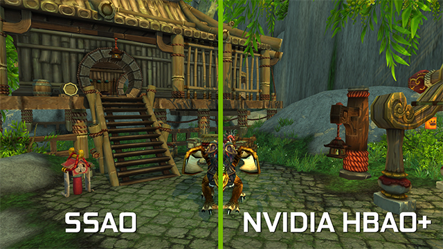<em>World of Warcraft</em>: Warlords of Draenor - Ambient Occlusion Interactive Comparison #1