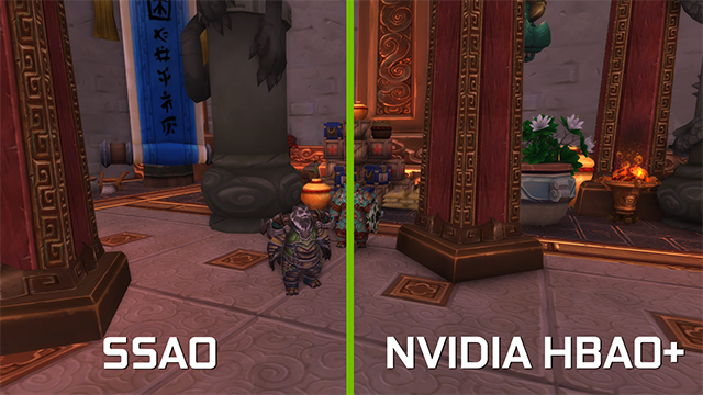 <em>World of Warcraft</em>: Warlords of Draenor - Ambient Occlusion Interactive Comparison #3
