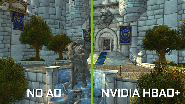 <em>World of Warcraft</em>: Warlords of Draenor - Ambient Occlusion Interactive Comparison #7