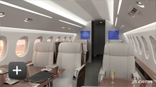 Catia Loftjet interior