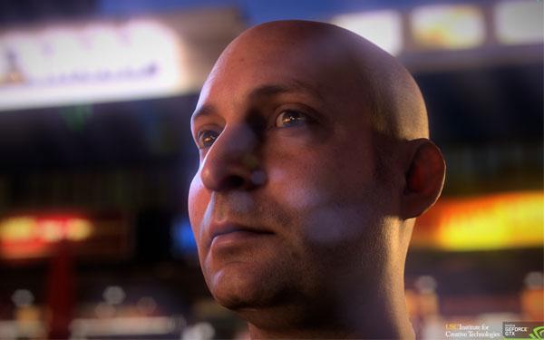 Realistyczny rendering ludzkiej twarzy