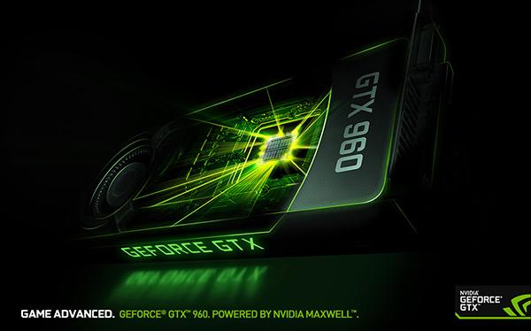 GeForce GTX 960 - Game Advanced