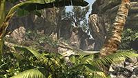 「刺客教條 4: 黑旗 (Assassin's Creed IV: Black Flag)」的低環境品質螢幕畫面截圖。