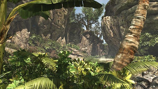 「刺客教條 4: 黑旗 (Assassin's Creed IV: Black Flag)」的環境品質互動比較圖。