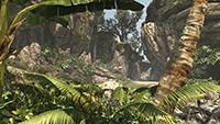 「刺客教條 4: 黑旗 (Assassin's Creed IV: Black Flag)」的超低環境品質螢幕畫面截圖。