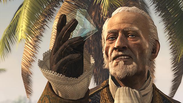 「刺客教條 4: 黑旗 (Assassin's Creed IV: Black Flag)」電腦螢幕畫面截圖。
