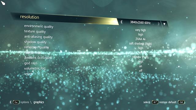 「蝙蝠俠: 阿卡漢始源 (Batman: Arkham Origins)」在 GeForce GTX 780 Ti SLI 電腦上以最高設定值執行。