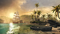 Assassin's Creed IV: Black Flag 4K PC Screenshot.
