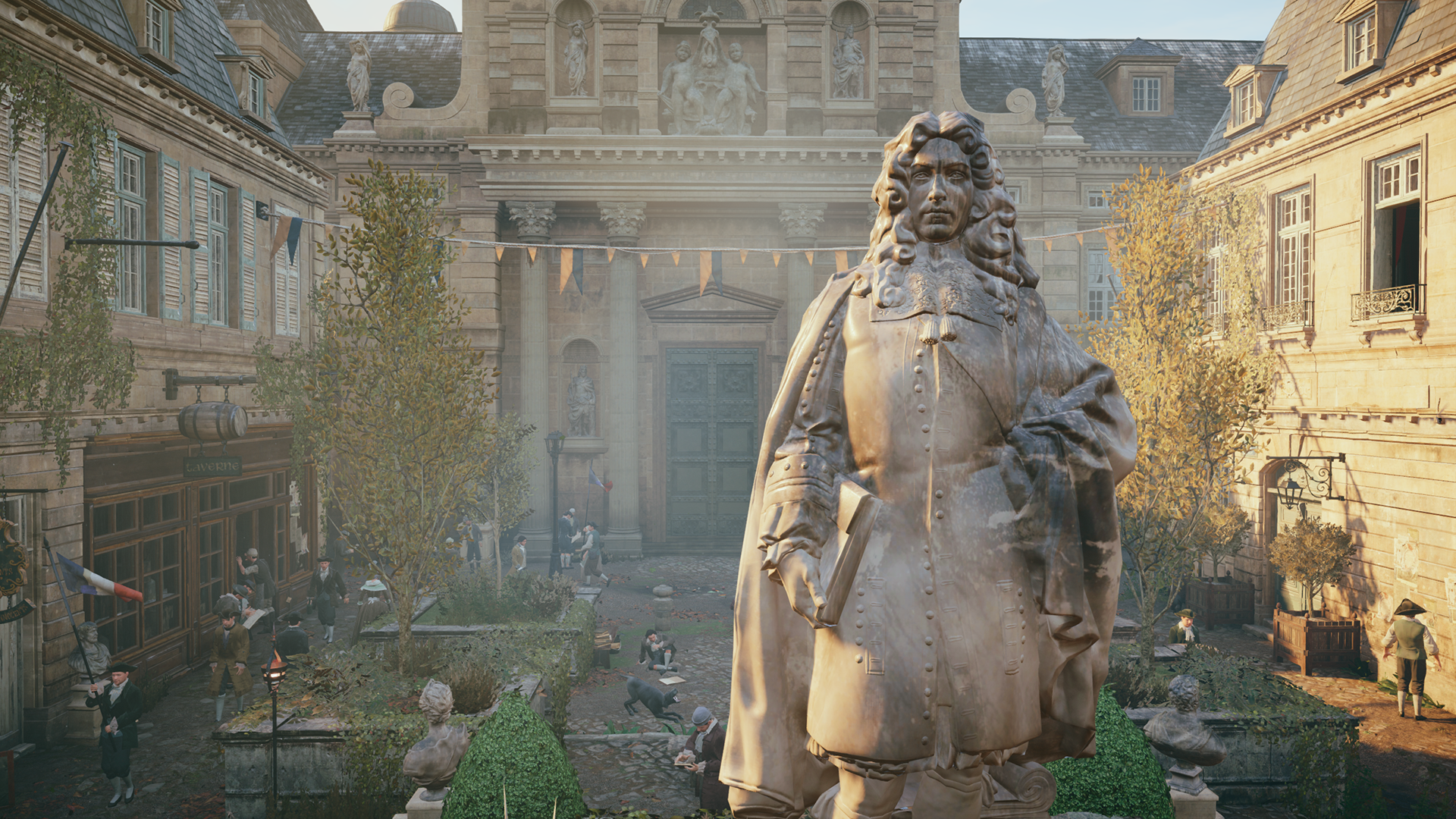 In S Creed Unity Ambient Occlusion Example 1 Ao Disabled