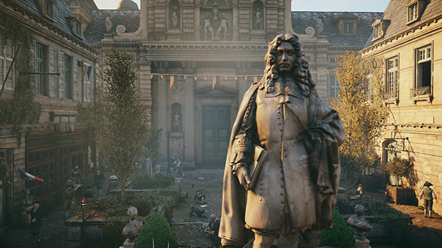 Assassin's Creed Unity - Ambient Occlusion - NVIDIA HBAO+ Interactive Comparison #1 - HBAO+ vs. No AO