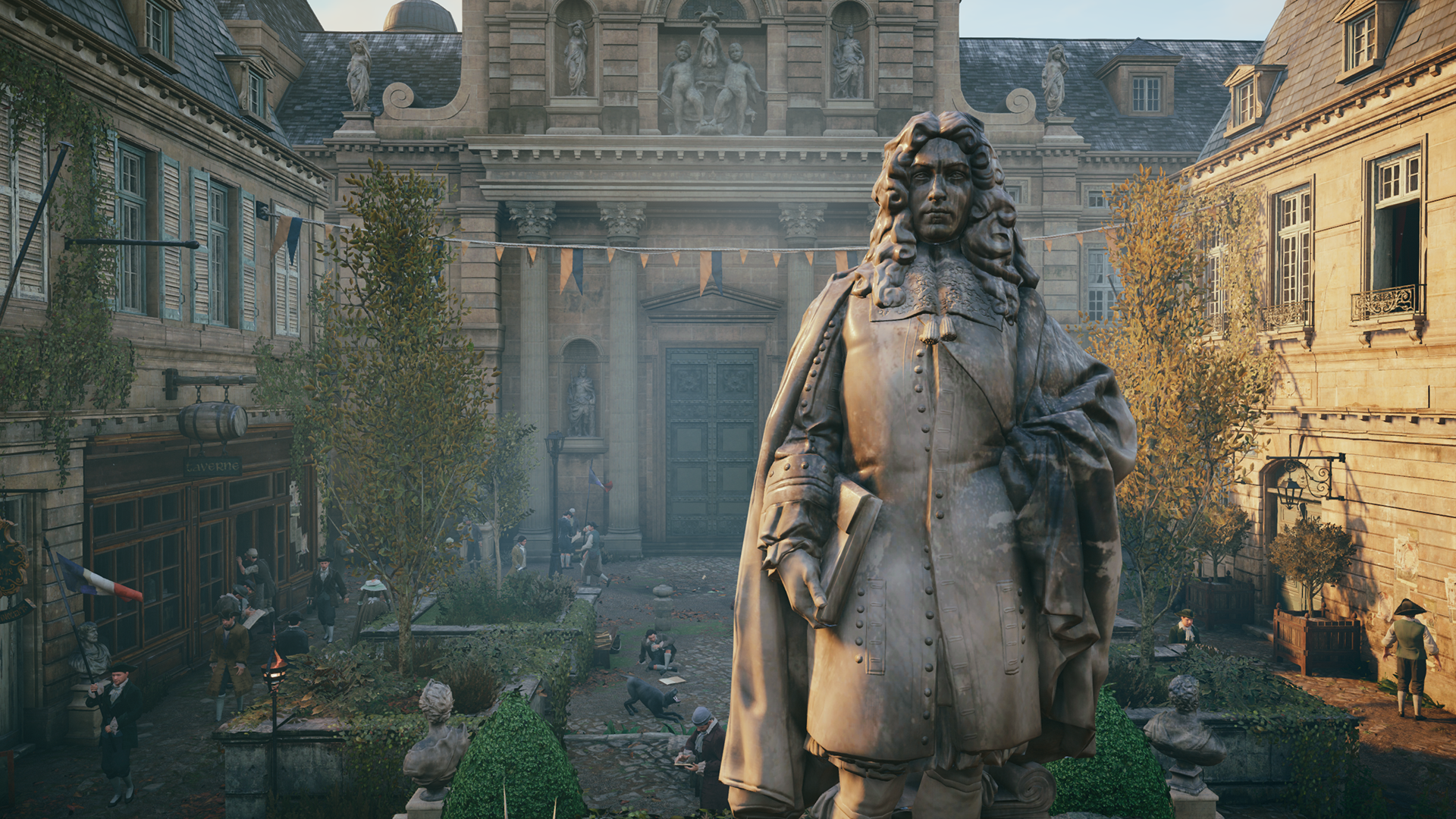 In S Creed Unity Ambient Occlusion Example 1 Ssao