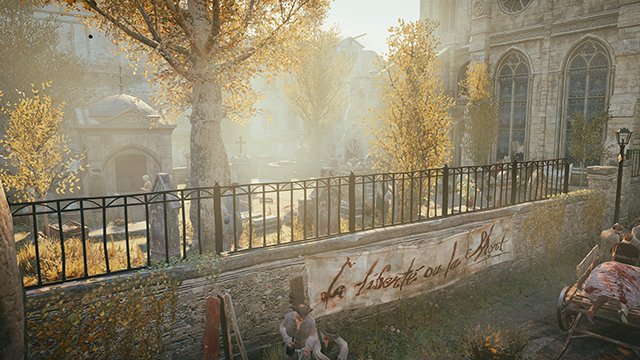 Assassin's Creed Unity - Environment Quality Interactive Comparison #1