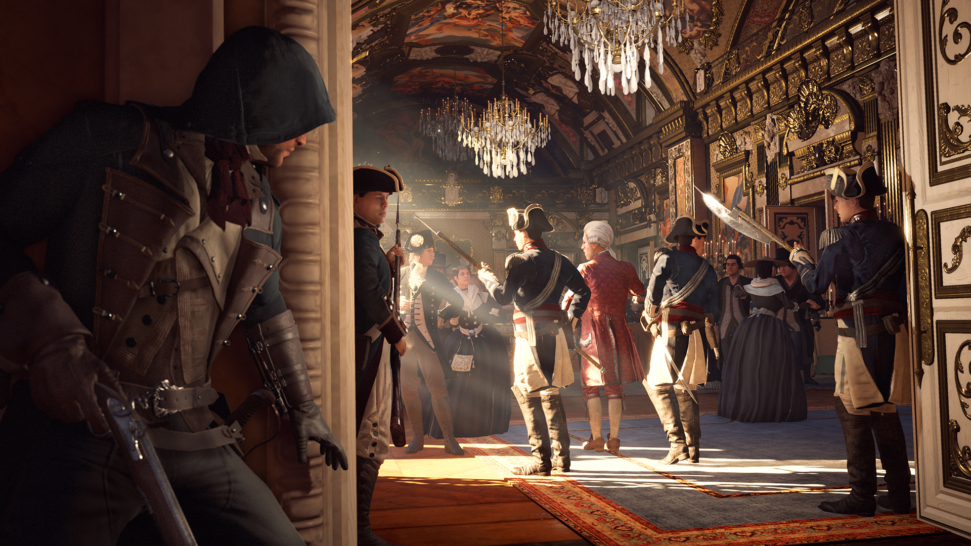 Unity Line Art Map : Assassin s creed unity graphics performance guide geforce