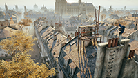 Assassin's Creed Unity - Shadow Quality Example #2 - Low Quality