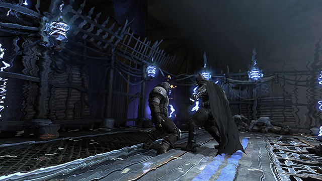 Batman: Arkham Origins Distortion Screenshot.