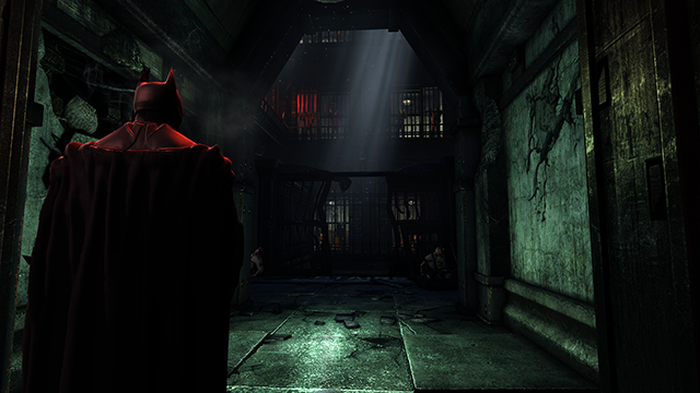 Batman: Arkham Origins Light Shafts Screenshot.