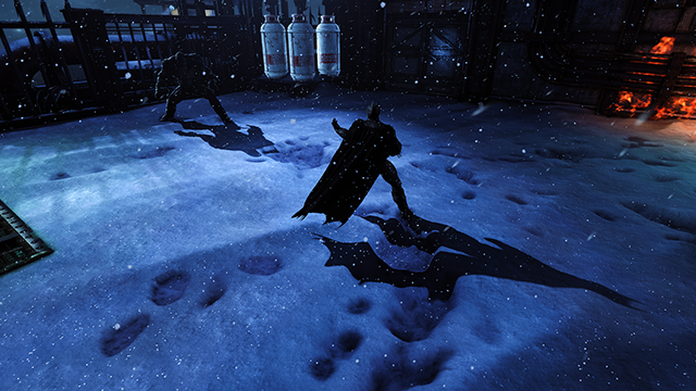 Batman: Arkham Origins NVIDIA PCSS Dynamic Shadows Interactive Comparison.