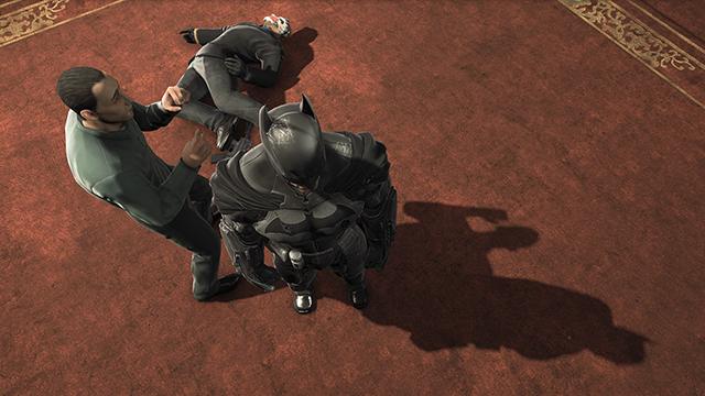 Batman: Arkham Origins NVIDIA PCSS Dynamic Shadows Interactive Comparison.