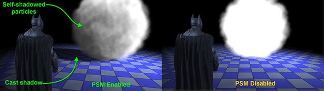 Batman: Arkham Origins NVIDIA GPU-Accelerated PhysX Particle Shadow Mapping.