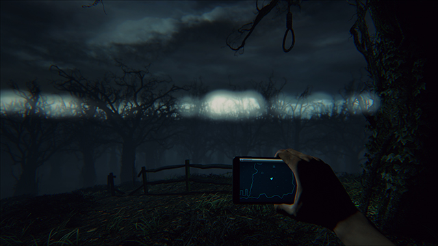 「曙光 (Daylight)」- NVIDIA 景深比較圖 #2
