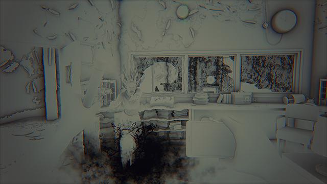 「曙光 (Daylight)」- NVIDIA HBAO+ 灰階圖 #1
