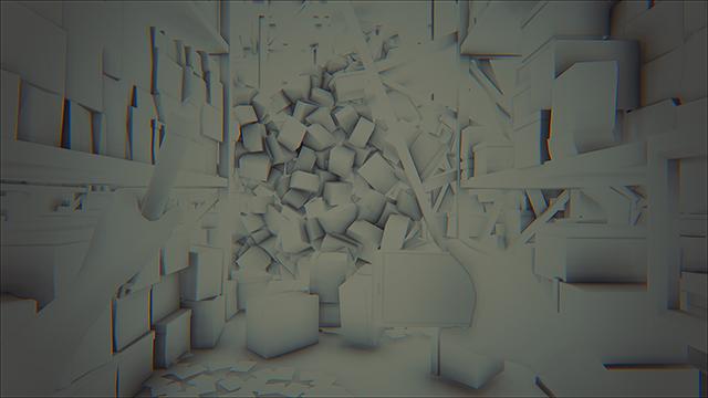 「曙光 (Daylight)」- NVIDIA HBAO+ 灰階圖 #5