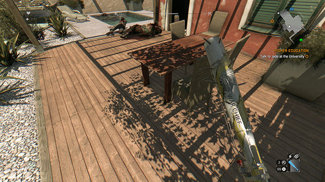 Dying Light - Shadow Map Size Comparison #1