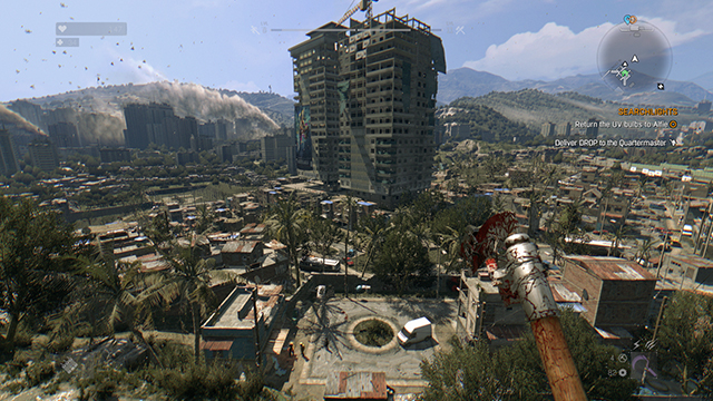 Dying Light - View Distance Comparison #1