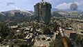 Dying Light - View Distance Example #1 - 25%