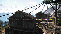 Far Cry 4 - Anti-Aliasing Quality Example #1 - 4xMSAA