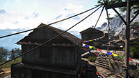 Far Cry 4 - Anti-Aliasing Quality Example #1 - Anti-Aliasing Disabled