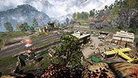 Far Cry 4 - Environment Quality Example #2 - Low