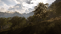 Far Cry 4 - Godrays Example #1 - NVIDIA Enhanced Godrays
