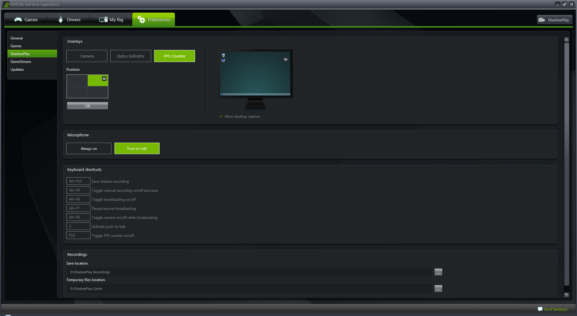 geforce experience 2.1 adds in-game fps counter, shadow mode for
