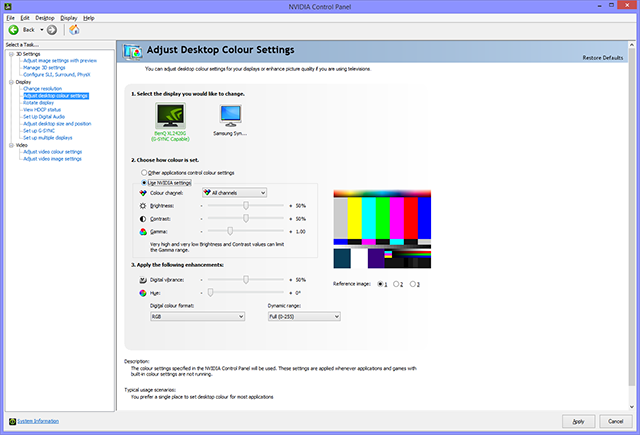 GeForce Garage: How To Calibrate Your Monitor - NVIDIA Control Panel Color Adjustment