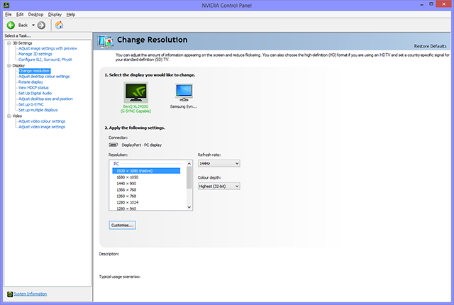 GeForce Garage: How To Calibrate Your Monitor - NVIDIA Control Panel Color Resolution Options