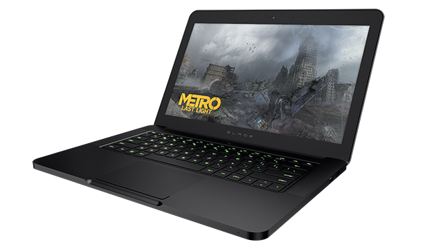 The GTX 765M-equipped Razer Blade
