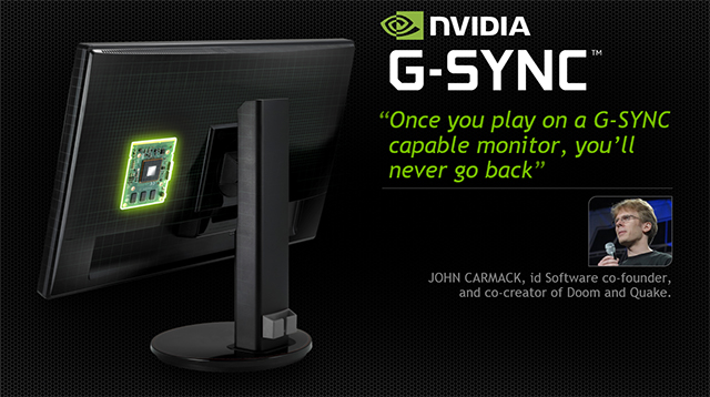 GeForce GTX 750 Class GPUs - Compatible with groundbreaking NVIDIA GeForce G-SYNC.